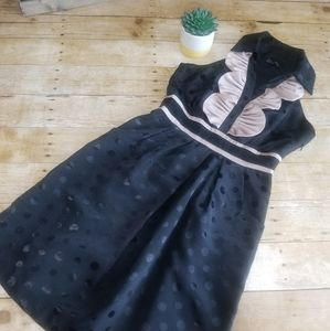 EUC Max and Cleo Polka Dot Dress